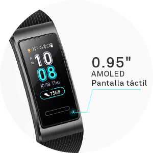 0.95 inch pantalla OLED táctil smartwatch
