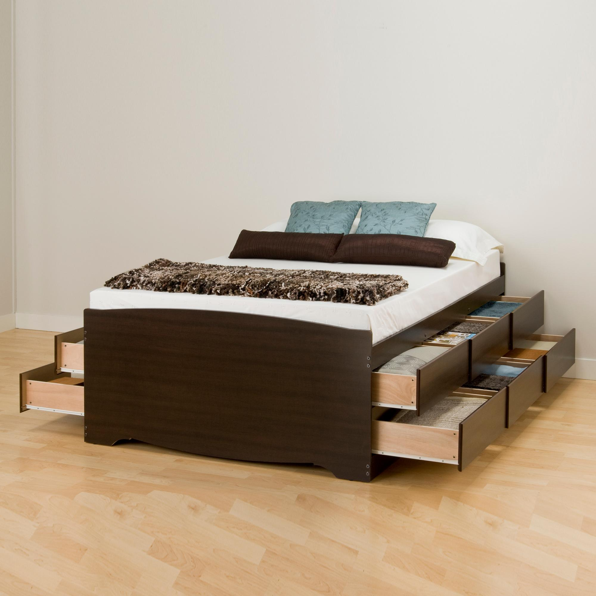 trundle bedroom and for design queen beds your brown twin dark cool ideas captains with size bed storage full