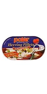 Herring in Hot Tomato Sauce