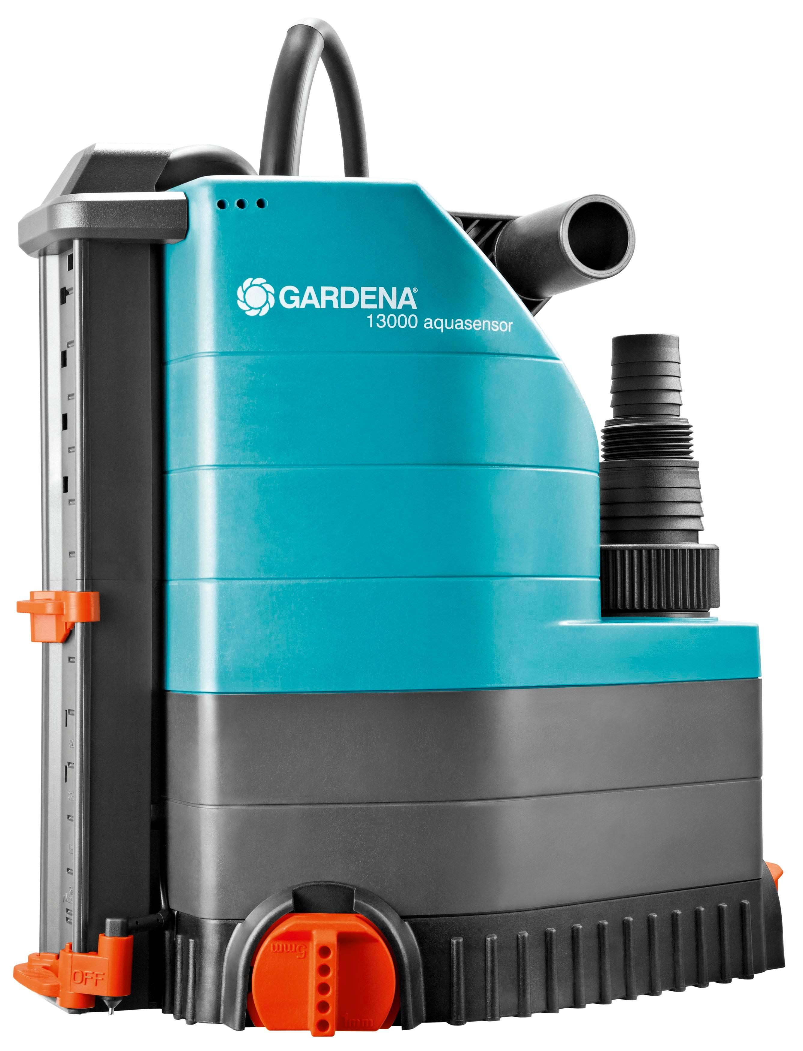 gardena comfort tauchpumpe 13000 aquasensor f rdermenge l h 650 w motor. Black Bedroom Furniture Sets. Home Design Ideas