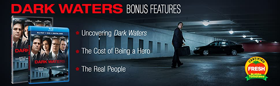 Amazon.com: Dark Waters [Blu-ray]: Mark Ruffalo, Anne Hathaway ...
