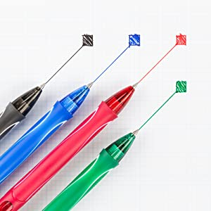 BIC Gel Ink Gel Pen in Blue, Black and Red are no smudge gel pens perfect for office work