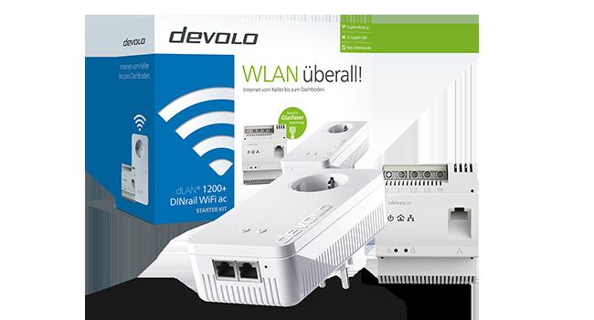 Devolo Dlan 1200 Dinrail Wifi Ac Computer Zubehör