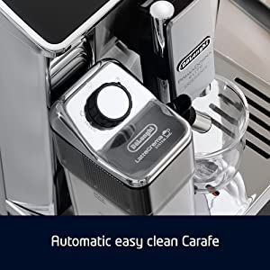 automatic easy clean carafe