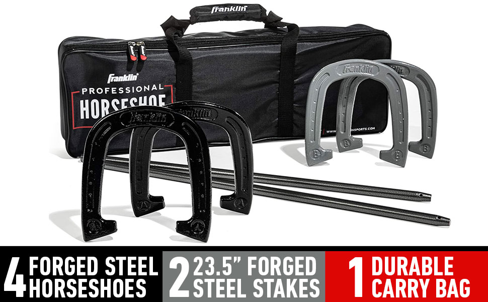 franklin sports horseshoes, horse shoe, horse shoe game, horse shoe kit, horse shoes for adults