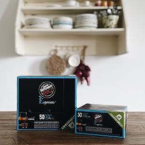 caffè vergnano capsule compostabili compatibili nespresso decaffeinato