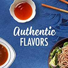 Authentic flavors with asuan sauces and marinades from La Choy