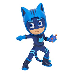 PJ Masks figure packs, super moon adventures characters, catboy, owlette, gekko,