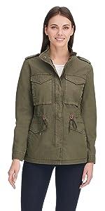 Parachute Cotton Military Jacket
