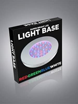 White Shell Multi-color LED Light Base
