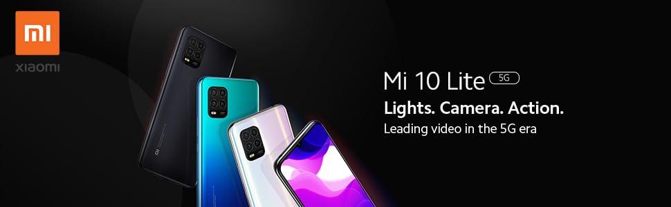 Xiaomi Mi 10 Lite 5G, 6GB+128GB, Camara de 48MP, Snapdragon 765G