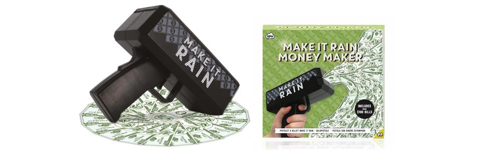 how to make it rain money
