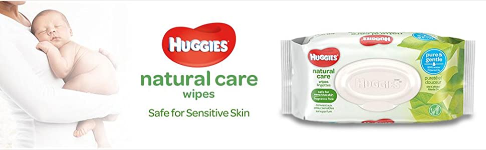 Amazon Com Huggies Natural Care Unscented Baby Wipes