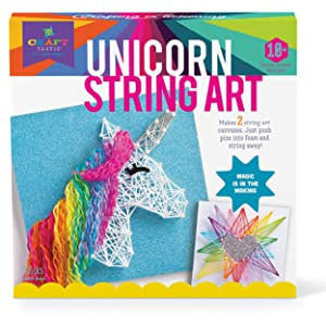 craft-tastic unicorn string art