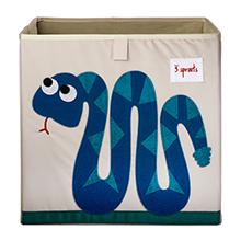 snake zoo storage kids cute box cube theme animals