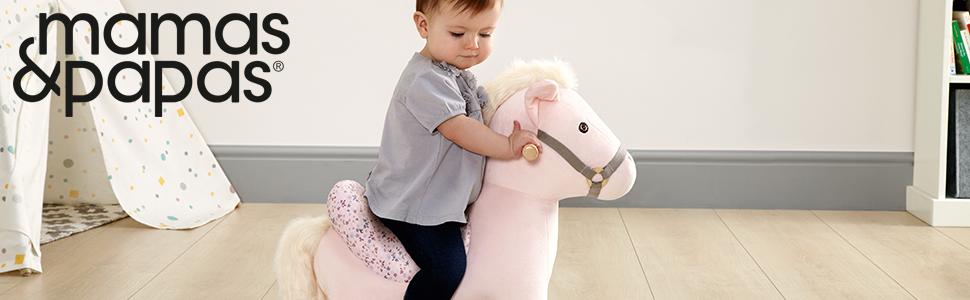 rocking horse, horse rocker, animal rocker, child, toddler, horse