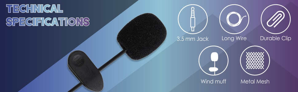 Brix Wireless Bluetooth Microphone with Speaker/Recoding Feature