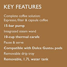 Key Features list