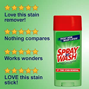 spraynwash spray n wash spray & wash max resolve laundry stain remover for clothes stick Spot remove