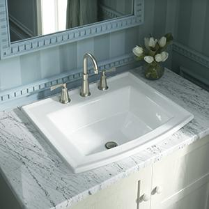 Kohler K 2355 0 Archer Under Mount Bathroom Sink White