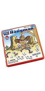 spelling, word, game, weatern, cowboy, travel, magnetic