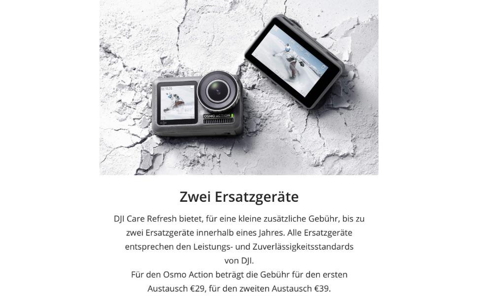 Dji Osmo Action Care Refresh Vip Serviceplan Osmo Kamera