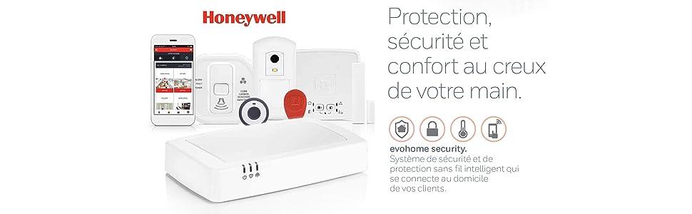 Gamme security Evohome Honeywell