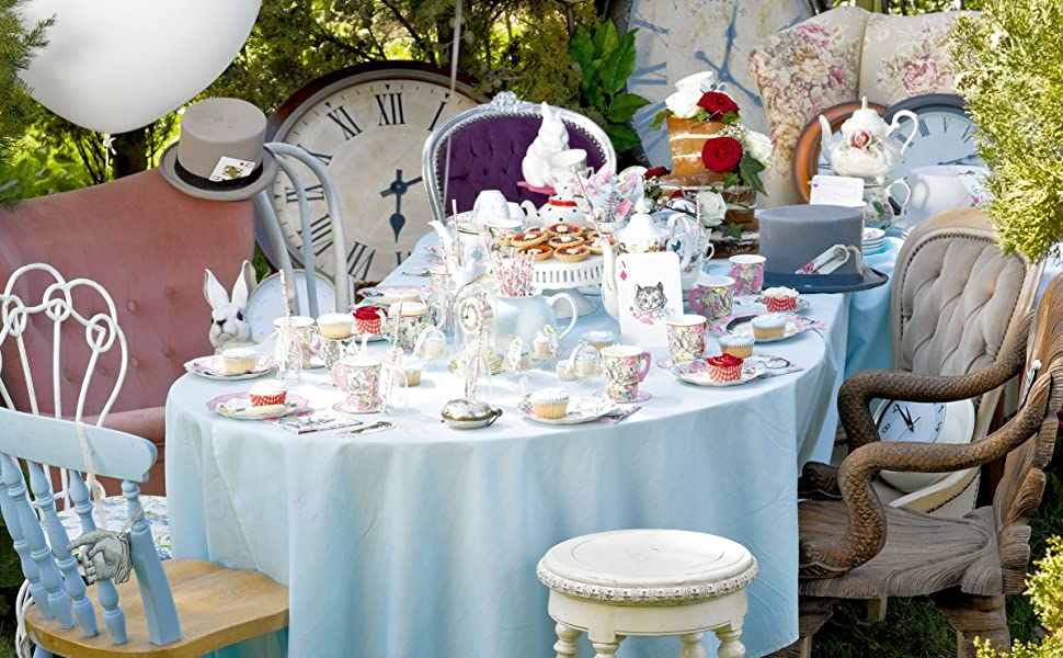 Truly Alice Tea Pot Cupcake Stands; Alice in Wonderland Theme; Mad Hatter Tea Party Decorations; Unique Alice in Wonderland decor; Cupakes