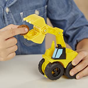 play-doh forklift