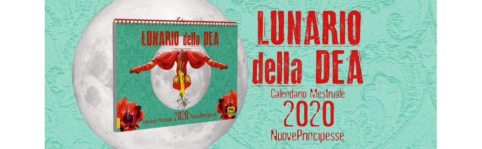 Calendario Principesse 2020.Lunario Della Dea Calendario Mestruale 2020 Amazon It C