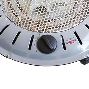Bastilipo BET-950 Brasero Anti-Incendios, 950W, 3 Potencía s, 950 ...