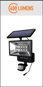 Security Solar Light w Motion Sensor