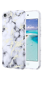 ipod touch 5 6 case slim fit marble protective cover