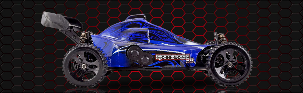 Redcat Rampage XB 1/5 Scale Gas Powered RC Buggy REady to Run Hobby Grade Fast