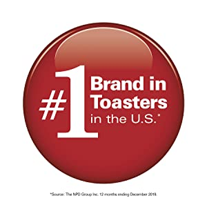 #1 toaster brand