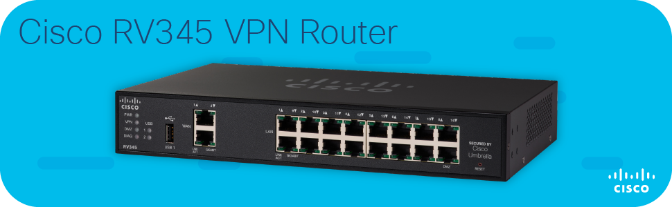 Cisco RV345 VPN Router