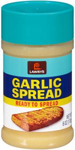 Lawry's Garlic Spread, 6 oz