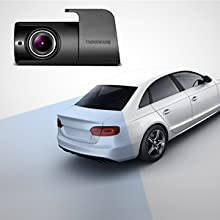 Dual Dash Cam Amazon Front Rear Camera Set 1080P Night Vision Parking Mode 360 degrees HD 140° alert