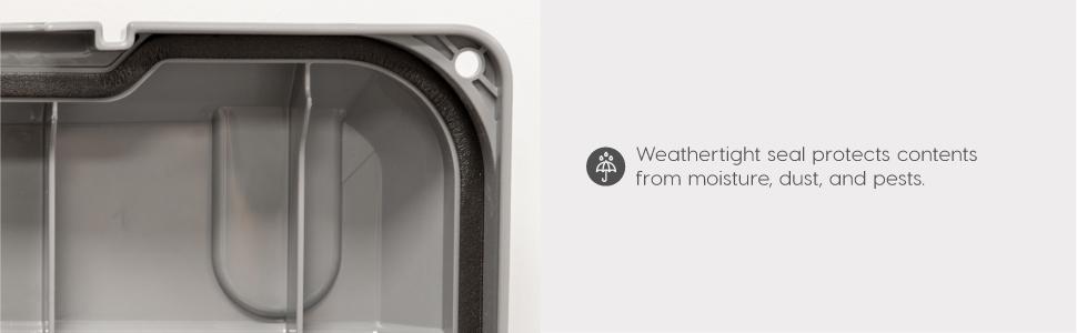 weathertight, weather tight, weathertight storage box, weather tight storage box, airtight storage