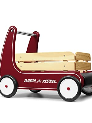 radio flyer classic walker wagon baby push walker