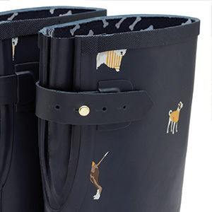 Joules, Wide Calf, rainboots, rain, waterproof
