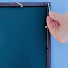 Glue Magnets to Back of Frame