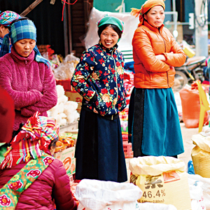 ベトナム北部 少数民族 刺繍 雑貨 民族衣装