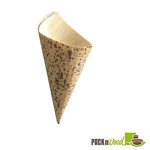 Bamboo Leaf Cone