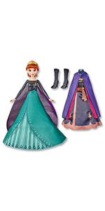 anna queen transformation fashion doll