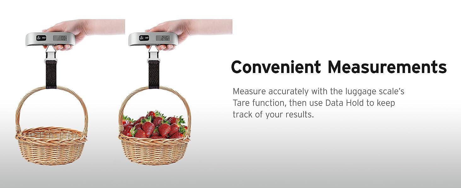 Convenient Measurements