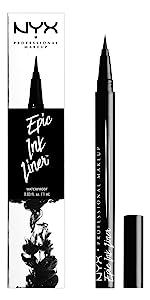 epic ink liner, nyx, nyx cosmetics, liquid liner