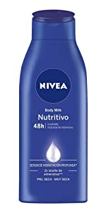 NIVEA Body Milk Nutritivo en pack de 6 (6 x 400 ml), leche ...