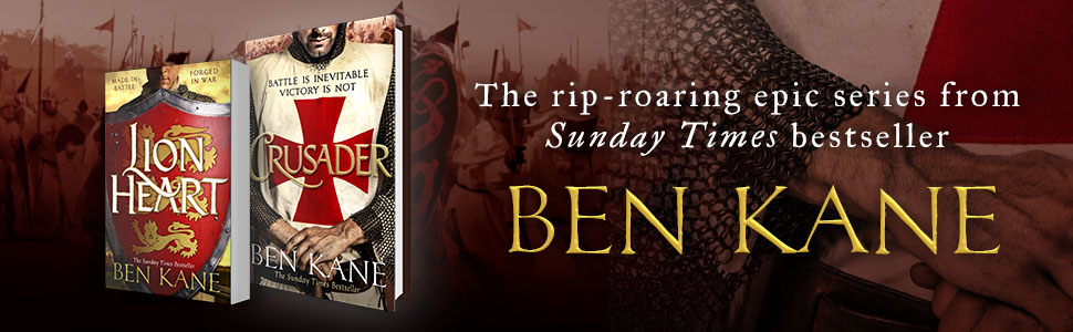 Crusader, Lionheart, Ben Kane, historical fiction, military fiction, action, adventure