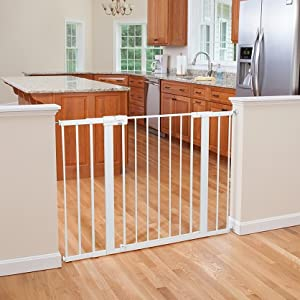 baby gates, safety gates, child, pressure mounted, extra wide and tall gate, easy install